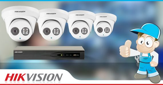 4 Camera Hikvision Special
