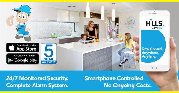 ComNav App Control Alarm